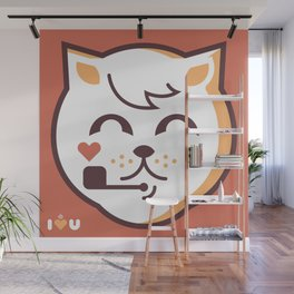 UNDO  ILU Pet Lover series [ brando ] Wall Mural
