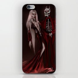 Red Magick iPhone Skin