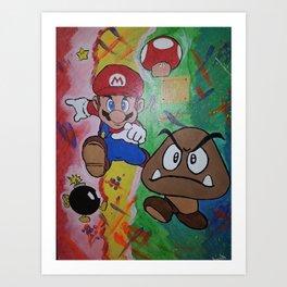 Mushroom World Art Print