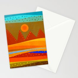 Textures/Abstract 143 o.c. Stationery Cards
