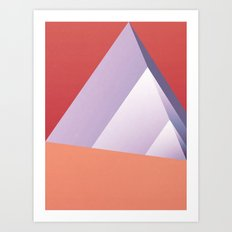 Pyramid Art Print