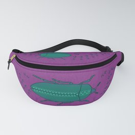 Spotted Jade Beetle Fanny Pack