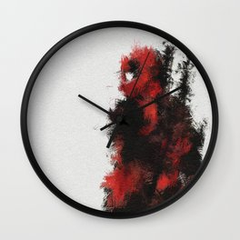 Merch with A Mouth Wall Clock