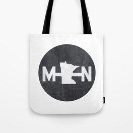 Minnesota Logo MN Tote Bag