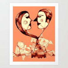 web of love Art Print