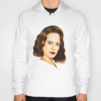 peggy carter Hoodies featuring Agent Carter by Olivia Nicholls-Bates