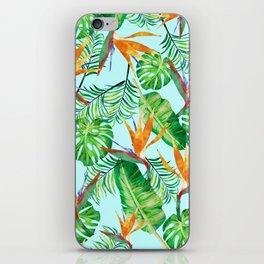 Tropical plant XVII iPhone Skin