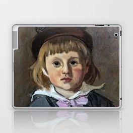 Portrait of his son Jean Monet in a pompom bonnet Laptop & iPad Skin