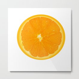 Summer Orange Metal Print
