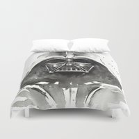 darth Duvet Covers featuring Darth Vader by Olechka