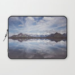 Mountain Lake Reflection - Landscape and Nature Photography Laptop Sleeve