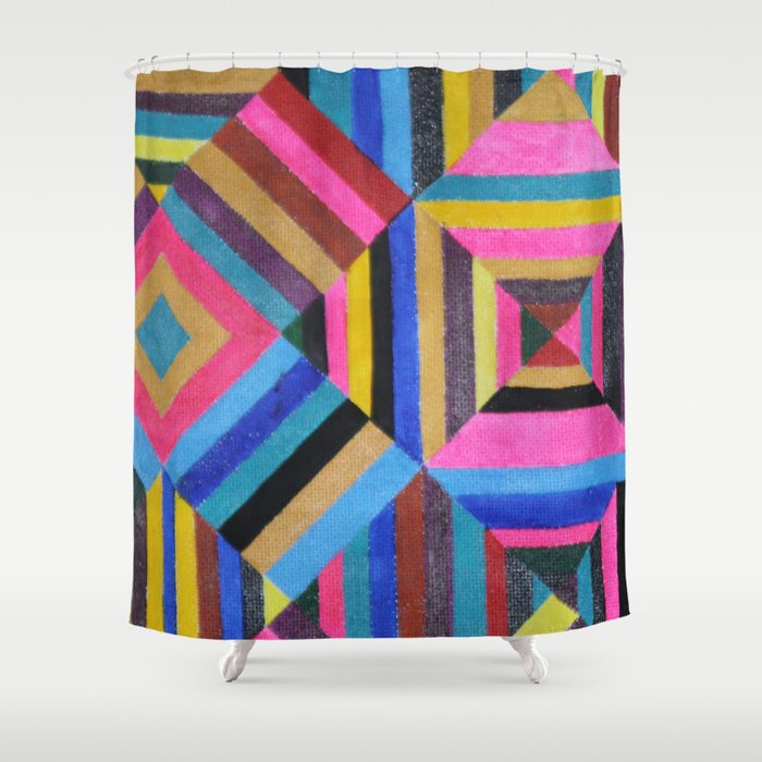 Stereomood Shower Curtain