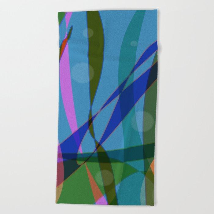 Abstract #355 Beach Towel