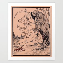 Et in Arcadia Ego Art Print