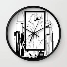 Anguish Wall Clock
