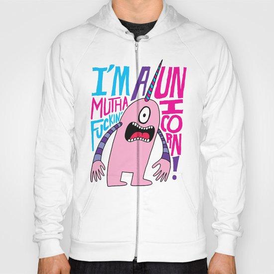 Mutha F'n Unicorn Hoody