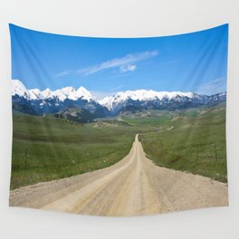 Old Country Road Wall Tapestry