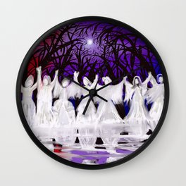 Midnight Prayers for the Living Sisters Wall Clock