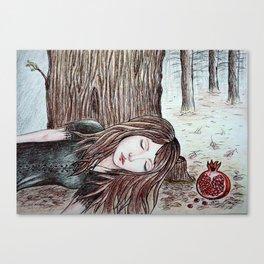 Persephone (Perfect Autumn) Canvas Print