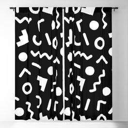 Memphis Pattern 521 Blackout Curtain