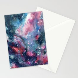 Nebula Sky Stationery Cards
