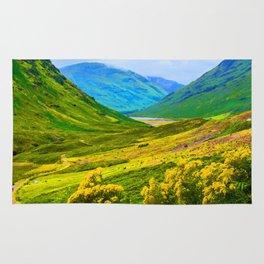 Scottish Highlands Rug