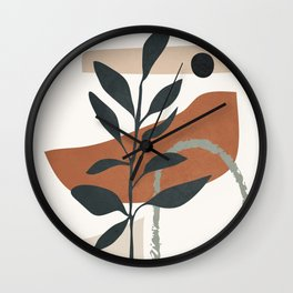 Abstract Shapes 35 Wall Clock