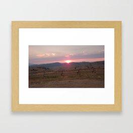 Long Gone Framed Art Print