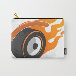 hot whe[y]el Carry-All Pouch