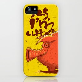 I'm Cute! iPhone Case