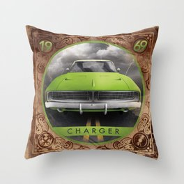 Charger 69 Throw Pillow