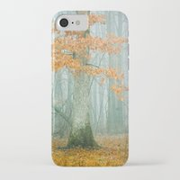 iPhone Cases featuring Autumn Woods by Olivia Joy StClaire