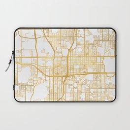 ORLANDO FLORIDA CITY STREET MAP ART Laptop Sleeve