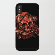 Dark history iPhone X Slim Case