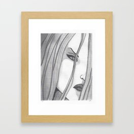 Poison Ivy (Dr. Isley) Framed Art Print