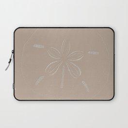 Sand Dollar Dreams - Beige Laptop Sleeve