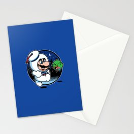 Super Marshmallow Bros. Stationery Cards