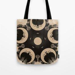 Ouija Wheel of the Moon - Beyond the Veil Tote Bag