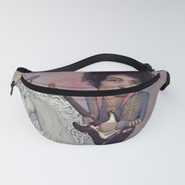 Woke up This Morning and Found Myself Riding a Unicorn Fanny Pack