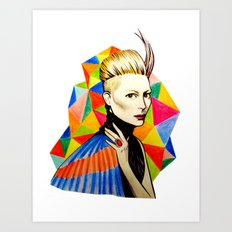 Tilda Art Print