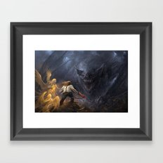 Bat out of Hell Framed Art Print