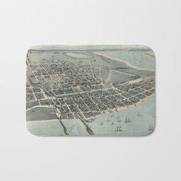 Corpus Christi, Texas 1887 Bath Mat
