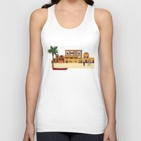 arab Tank Tops featuring Arab city by Design4u Studio