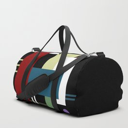 GEOMETRIC ABSTRACT Duffle Bag