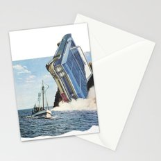 The crash Stationery Cards