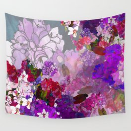 Purple Globes of Rhododendron  Wall Tapestry