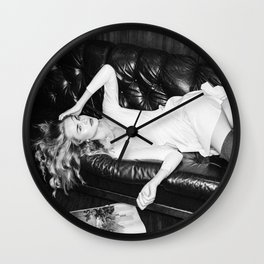 Couch Stories Wall Clock