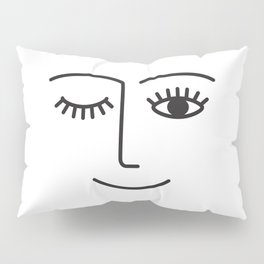 Wink Pillow Sham