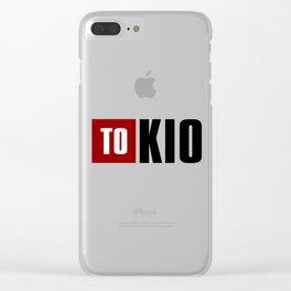 La Casa de Papel - TOKIO Clear iPhone Case