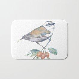 Little Snowbird #bird Bath Mat